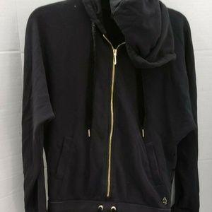 Fierce In Juicy Couture Zipper Sweatshirt Jumpsuit